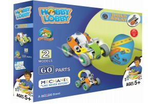 Mitashi Hobby Lobby Build and Play 4 Mechanix Set-60 Pcs