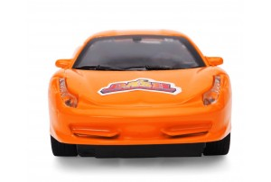 Mitashi Dash 1:32 Wonder Car with Pull Back Action-Orange/Yellow