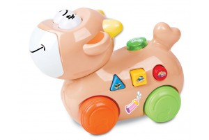 Mitashi Skykidz Happy Go Lucky Pet Musical Toy-Cow