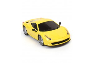 Mitashi Dash 1:18 R/C Rechargeable Street Masters 1 Car-Yellow