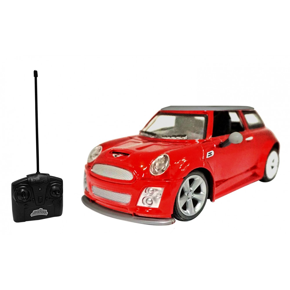 miatshi dash 1 24 r c bmw mini cooper battery operated car. Black Bedroom Furniture Sets. Home Design Ideas