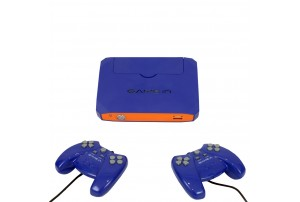 Mitashi Game In Junior NX Gaming Console-Blue & Orange