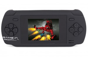 Mitashi GameIn Smarty V.01 Handheld Gaming Console-Black