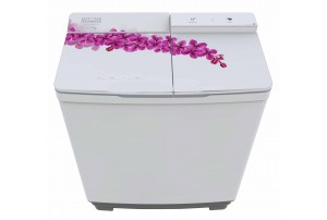 Mitashi 8.5 KG Semi Automatic Top Loaded washing machine- MiSAWM85v15 with 2 + 3 Years Extended Warranty