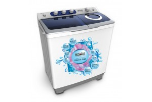 Mitashi 8.5 KG Semi Automatic Top Loaded washing machine- MiSAWM85v25 AJD With Air Jet Dryer and 5 Years Warranty