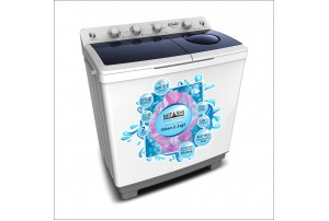 Mitashi 9.8 KG Semi Automatic Top Loaded washing machine- MiSAWM98v25 AJD With Air Jet Dryer