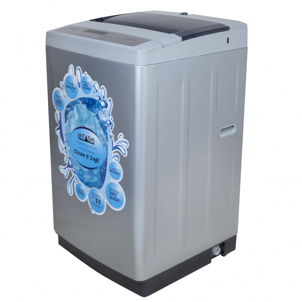 mitashi 7 5 kg fully automatic top loaded washing machine mifawm75v20. Black Bedroom Furniture Sets. Home Design Ideas