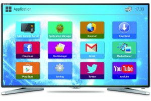 "Mitashi 50"" Full HD Smart LED TV MiDE050v02 FS  with FREE Air Mouse and 3 years Warranty"