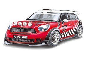 Mitashi Dash 1:24 R/C BMW Mini Cooper W Batter Operated Car - DS046