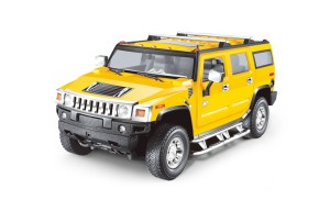 Mitashi Dash 1:24 R/C Hummer H2 Battery Operated Car- DS 048