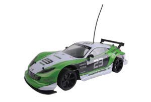 Mitashi Dash Rechargeable R/C The Mean Green Drift Machine Car