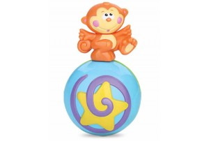 Mitashi Sky Kidz Roly-Poly Musical Ball Monkey