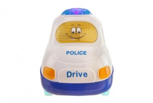 Mitashi Sky Kidz Clap & Zoom Vehicle Police Car