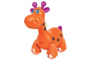Mitashi Sky Kidz Jungle Rumble Giraffe Musical Toy-Orange