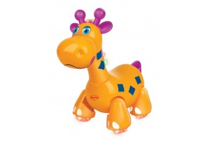 Mitashi Sky Kidz Jungle Rumble Giraffe Musical Toy-Yellow