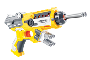 Bang Prinio Toy Gun With Soft Bullets-Yellow