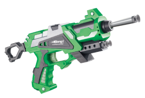 Bang Prinio Toy Gun With Soft Bullets - Green