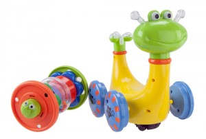 Mitashi SkyKidz Swirling Snail Musical Toy