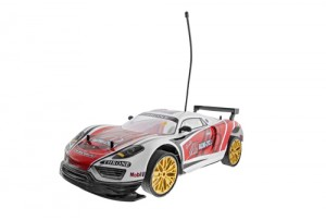 Mitashi Dash 1:10 Rechargeable R/C The Blazing Red & White Drifter Car
