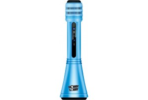Hobby Lobby Sing Along Karaoke Mic With Inbuilt Speakers and Bluetooth (Blue) HLK1013