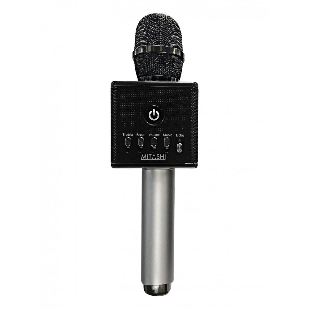 Mitashi Wireless Karaoke Mic With Inbuilt Speakers And