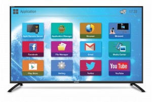 Mitashi 164 cms (65) Full HD Smart LED TV MiDE065v22 with FREE Air Mouse and 3 Years warranty