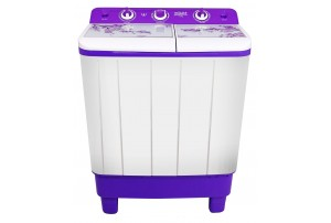 Mitashi 7.2 Kg Semi Automatic Top Loaded Washing Machine - MiSAWM72v45 GL With Glass Top Lid