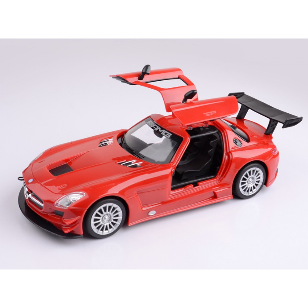 Mitashi dash 1 24 rechargeable r c mercedes benz sls amg for Rc mercedes benz