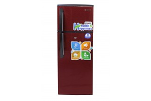 Mitashi 240 Liters 3 Star Direct Cool Double Door Refrigerator ( Maroon Color) - MiRFDDM240V25
