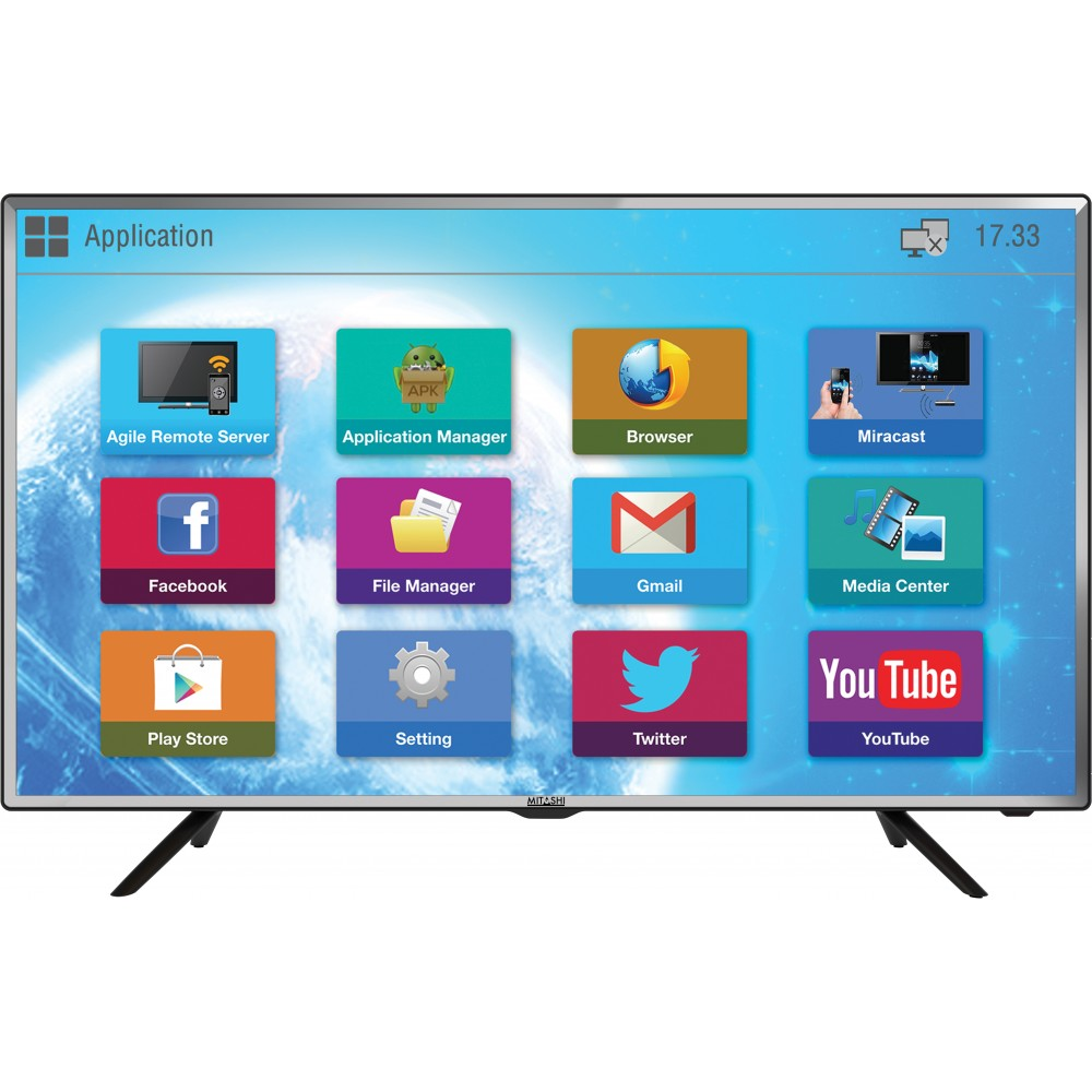 11a4964bac5 Mitashi 80.01 cm (31.5 inch) Smart HD Ready LED TV MiDE032v50 HS