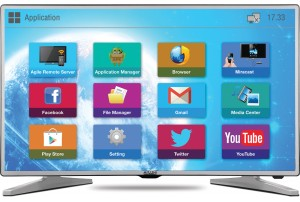 "Mitashi 100.33 cm ( 39.5 inchs )"" SMART Full HD LED TV MiDE040v50 FS"