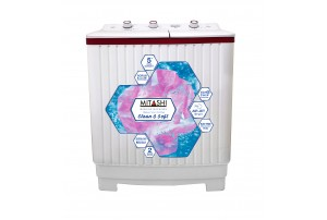 Mitashi 6.2 Kg Semi Automatic Top Loaded Washing Machine- MiSAWM62v25 AJD With Air Jet Dryer Technology