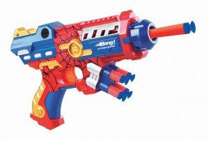 Bang Prinio Toy Gun With Soft Bullets- Red