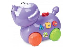 Mitashi SkyKidz Happy Go Lucky Pet Musical Toy-Elephant