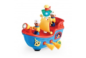 Mitashi Skykidz Pirate Ship Musical Toy