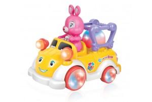 Mitashi SkyKidz Carnival Kart Musical Toy- Rabbit