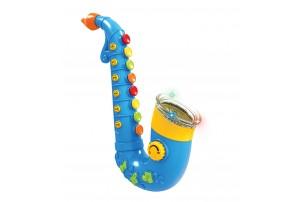 Mitashi Skykidz Saxophone Musical Toy-Blue