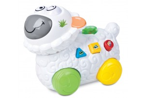 Mitashi SkyKidz Happy Go Lucky Pet Musical Toy-Sheep