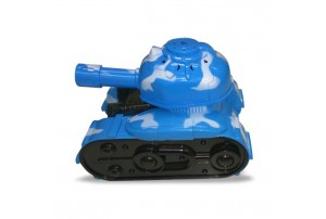 Mitashi SkyKidz Warrior Tank 1 Musical Toy-Blue